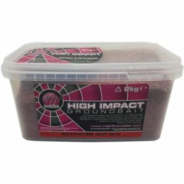Mainline High Impact Groundbaits Activeted Nut Mix - aktív mogyorós mix 2 kg-os vödörben