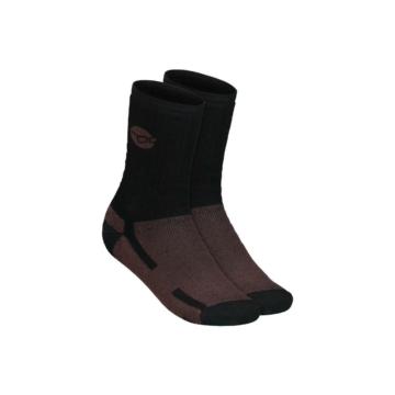 Korda Kore Merino Wool Sock Black (UK 7-9) - merino zokni (EU40-43)