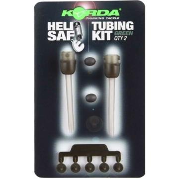 """Korda Heli Safe Tubing Kit Weed - """"Heli Safe"""" ólom elhagyó rendszer gubancgátló csőhöz """"növényzet"""" színben"""