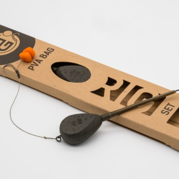 PVA Bag Rig Set – Flat Pear (lapított körte) inline ólommal