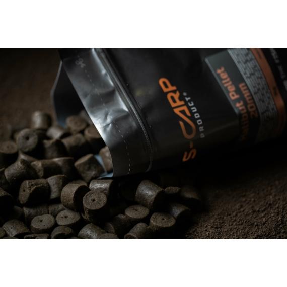 S-Carp Product Halibut Pellet - fúrt pellet 14mm 1kg