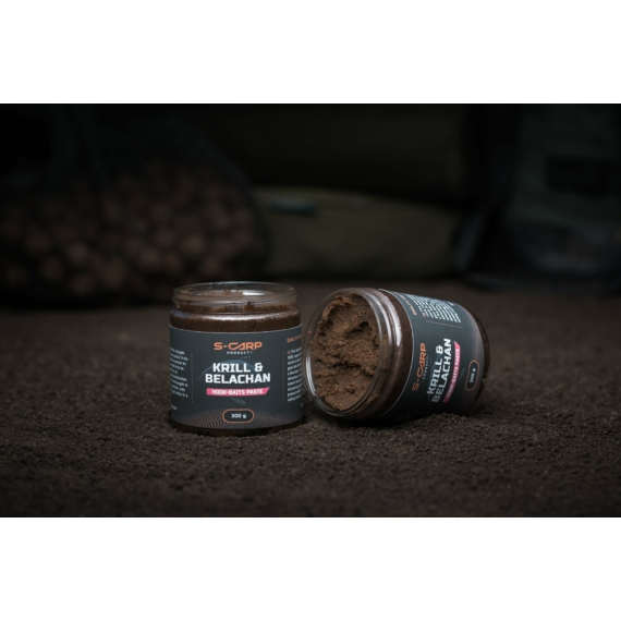S-Carp Product Krill & Belachan Hookbait Paste - horogpaszta