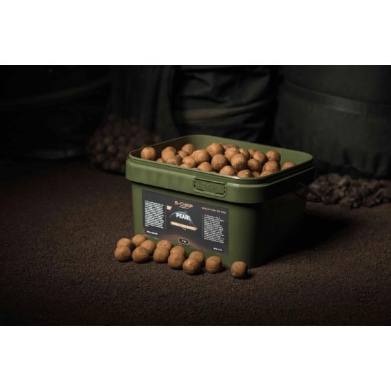 S-Carp Product Pearl Boilie 20mm - Pearl vödrös bojli 3 kg