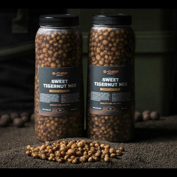 S-Carp Product Sweet Tigenut Mix - főtt tigrismogyoró 2,5 liter