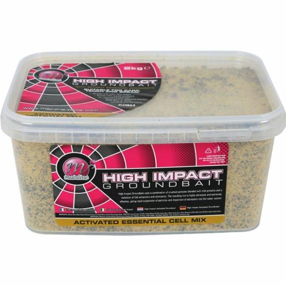 "Mainline High Impact Groundbaits Activeted ""Essential CellTM"" Mix - aktív ""Essential Cell"" mix 2 kg-os vödörben"