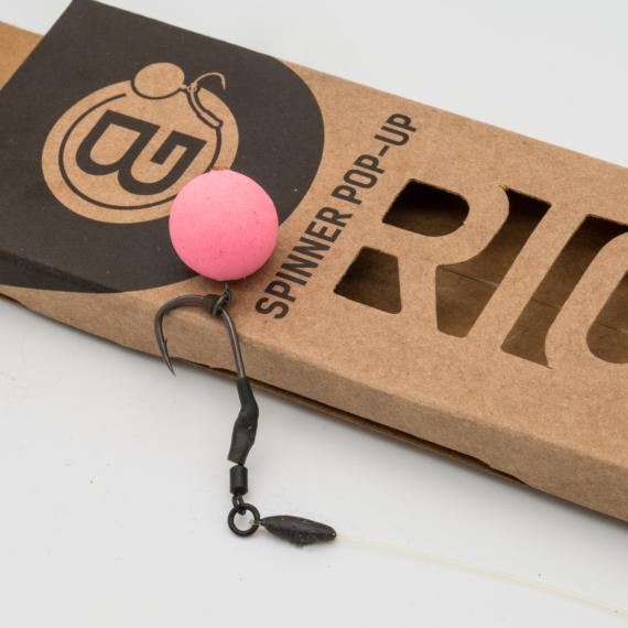 BG Spinner Pop-Up Rig - Bujáki Géza által készített Spinner előke pop-up csalikhoz