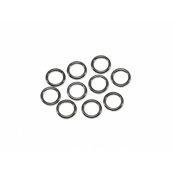 Carp'R'Us Snag Clip Rings - ólomkapocs acélkarika 5mm