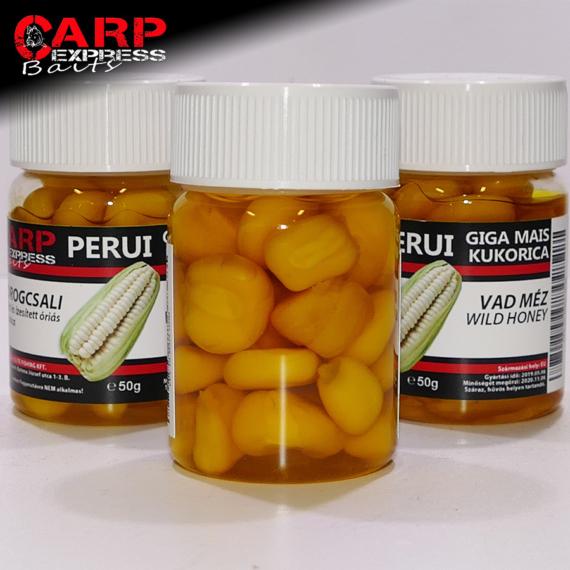 CPX Baits Főtt színezett Perui Giga kukorica horogcsali - Vad Méz 50 gramm