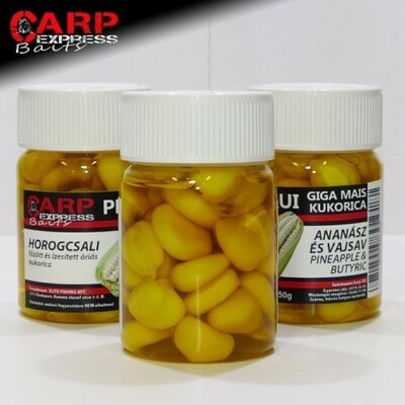 CPX Baits Főtt színezett Perui Giga kukorica horogcsali - Ananász/Vajsav 50 gramm