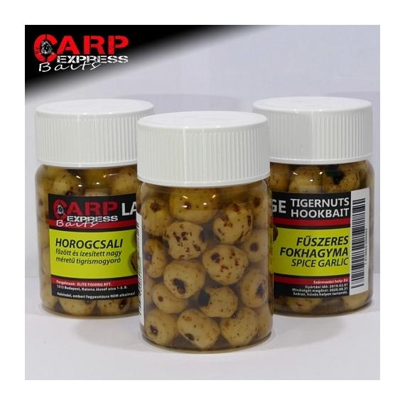 CPX Baits Főtt színezett tigrismogyoró horogcsali - Fűszeres Fokhagyma 50 gramm