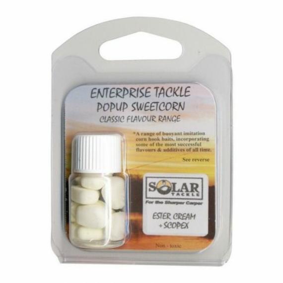 Enterprise Tackle Classic Corn Ester Cream & Scopex - ízesített gumikukorica