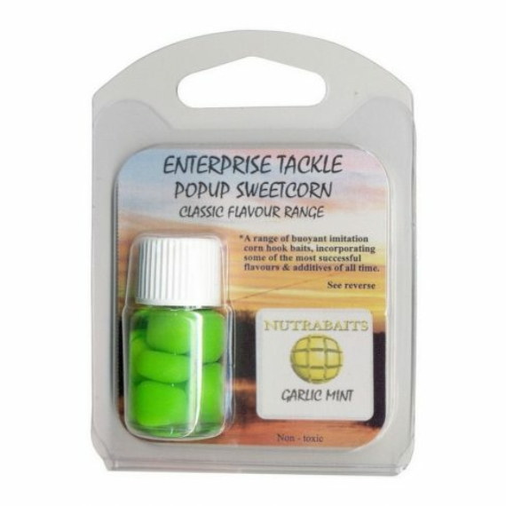 Enterprise Tackle Classic Corn Garlic Mint - ízesített gumikukorica