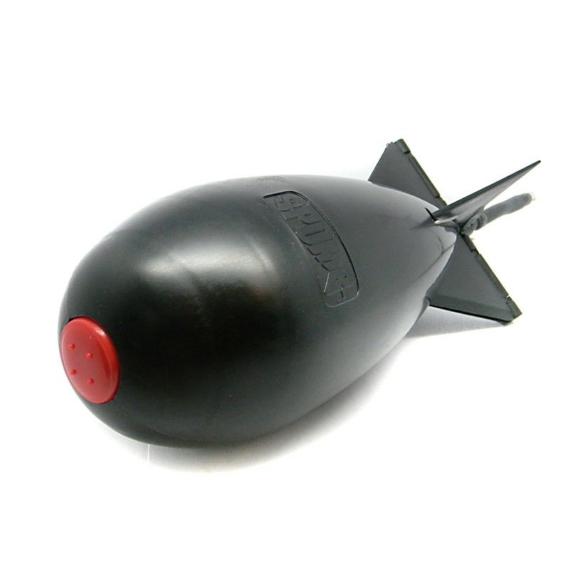 Spomb Midi Black - közepes méretű fekete etetőrakéta