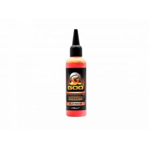 Korda - Kiana Carp Outrageous Orange Supreme Goo Liquid - folyékony attraktor (narancs)