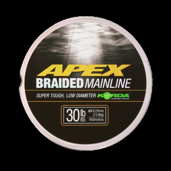 Korda Apex Braid - fonott főzsinór 30 lb 450 m