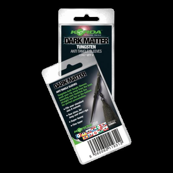 Korda Dark Matter Tungsten Anti Tangle Sleeve Long - hosszú ólmozott gubancgátló hüvely