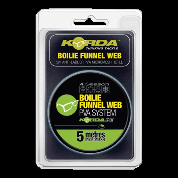 Korda Boilie Funnel Web Refill PVA System 5 m  - PVA háló utántöltő 5 méter