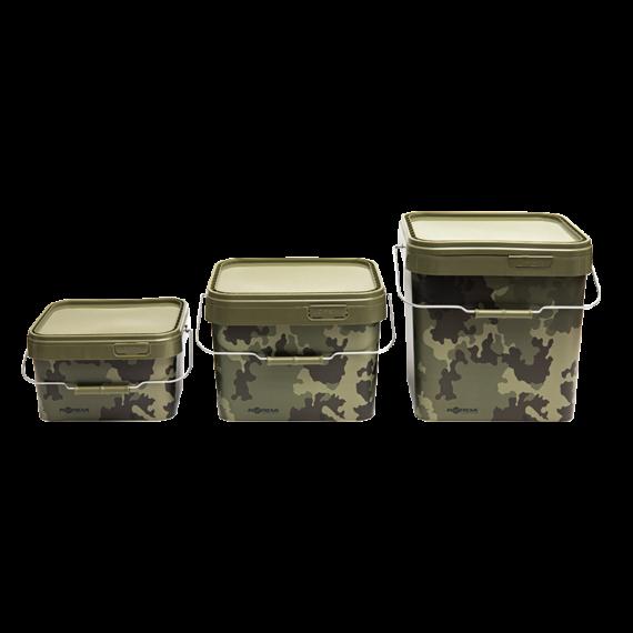 "Korda Compac 5L, 10L, 17L Bucket - ""camo"" mintás 5L/10L/17L-es vödör fedéllel"