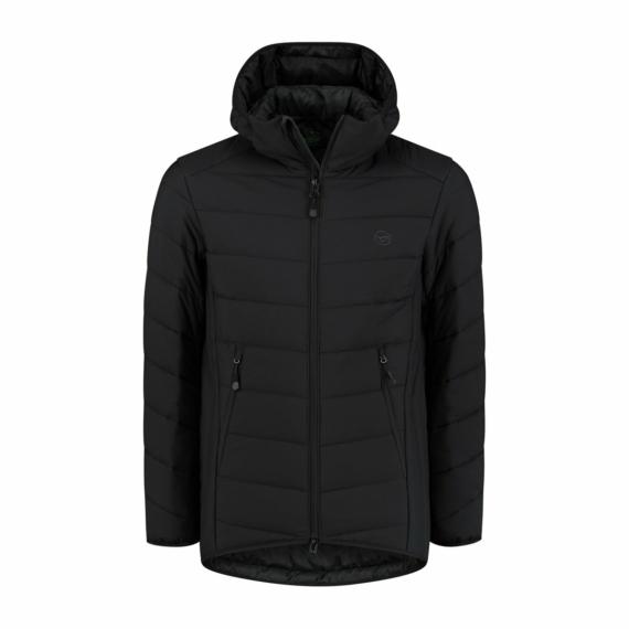 Korda KORE THERMOLITE® Puffer Jacket Black - fekete horgászkabát S-XXL-es méretekben