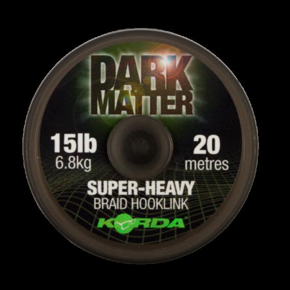 Korda Dark Matter Braid 20-30 lb - nehezített fonott előkezsinór 20 méter