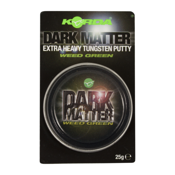 "Korda Dark Matter Tungsten Putty Weed/Green - ólompaszta ""növényzet"" zöld színen"