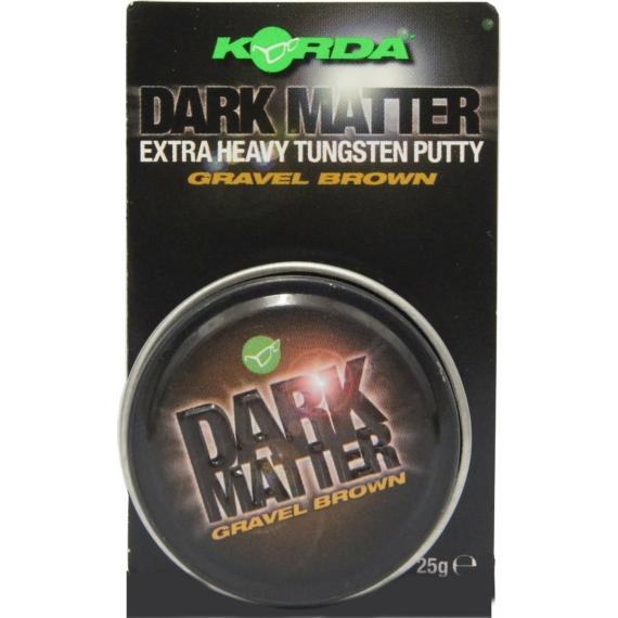 "Korda Dark Matter Tungsten Putty Gravel/Brown - ólompaszta ""sóder"" barna színen"