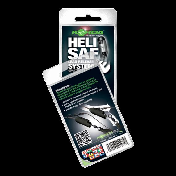 Korda Heli-Safe Green - ólomrendszer zöld színben