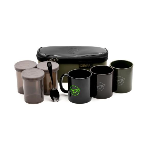 Korda Compac Tea Set 3 piece - 3 részes italkészlet