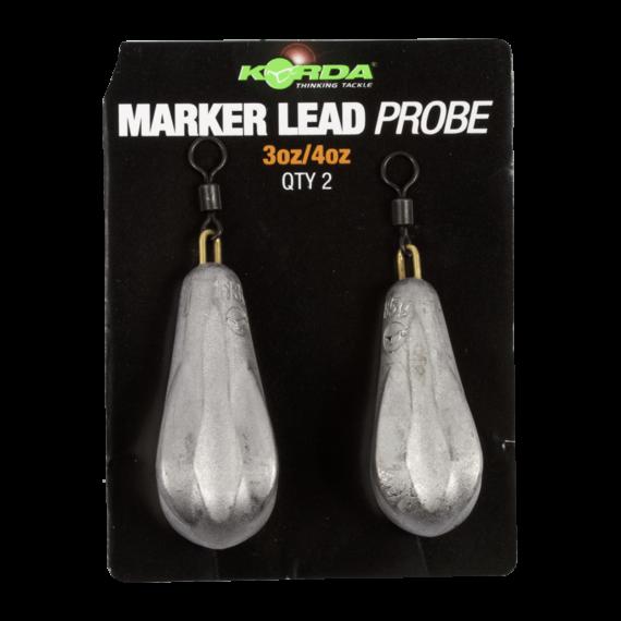 Korda Marker Lead Probe 3 & 4 (Blistered) - speciális marker ólom (85g/113g)
