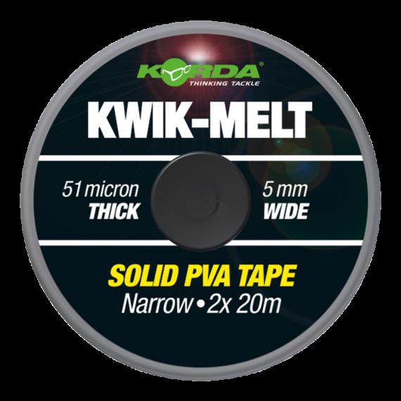 Korda Kwik Melt Pva Solid Tape 5mm - PVA szalag 5-es mm - 2x20méter