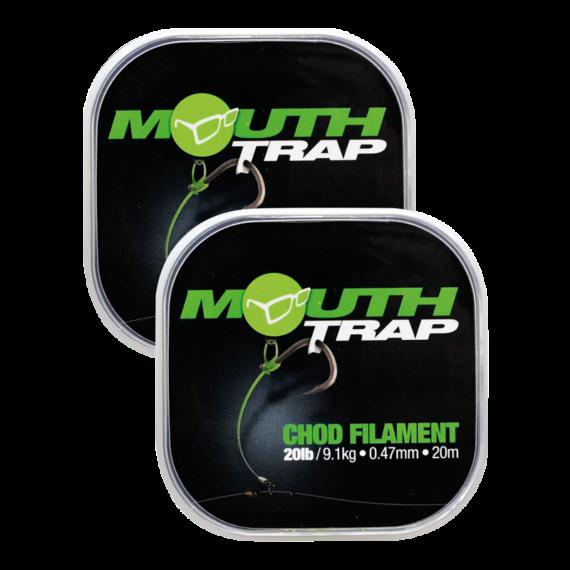 Korda Mouth Trap 15-20 lb- - előkezsinór  0,43-0,47 mm, 20 méter