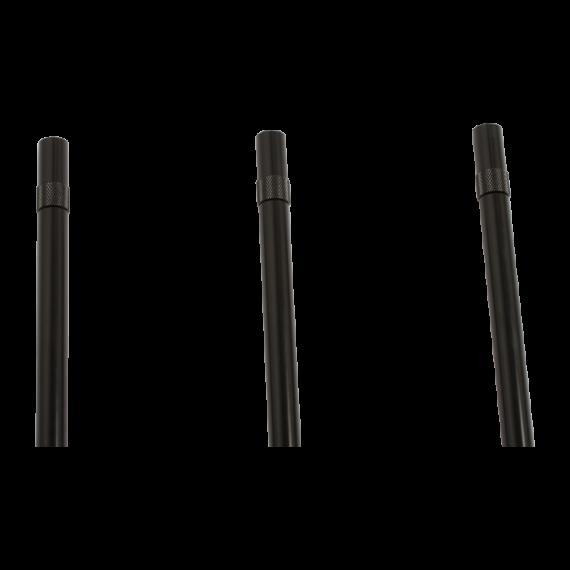 """Korda Black Singlez Upright  3,5"""" - speciális menetes fekete leszúró (8,89cm)"""