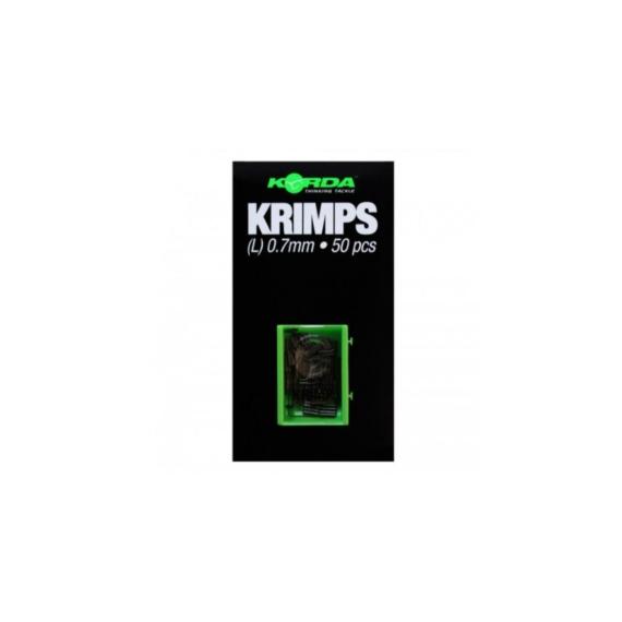 Korda Spare Krimps S (0,6mm) - tartalék krimpelő hüvejek (Kis méret)