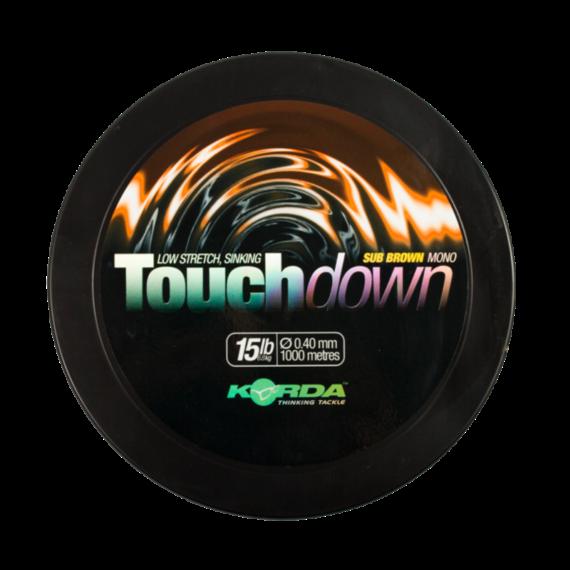 Korda Touchdown Braun 0,30mm- 0.40mm- monofil főzsinór barna színben