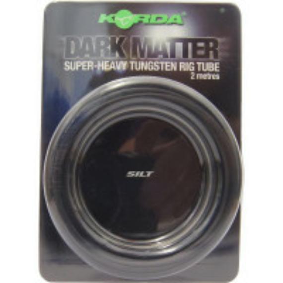 """Korda Dark Matter Super-Heavy Tungsten Rig Tube Silt - ólmozott gubancgátló cső """"iszap"""" színben"""