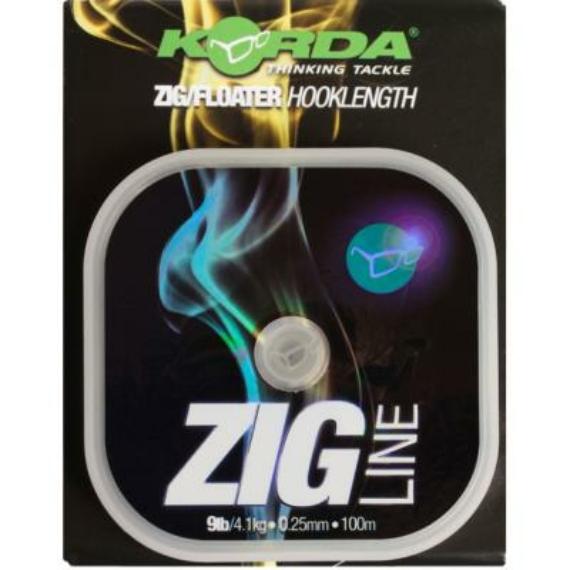 Korda Zig Line 9-11 lb - Zig előke zsinór 100 méter