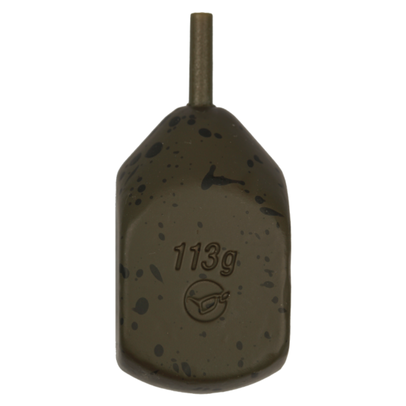Korda Square Pear Inline (Single) 1 db 2,5 -5 oz - inline ólom 1db / 71-140 gramm