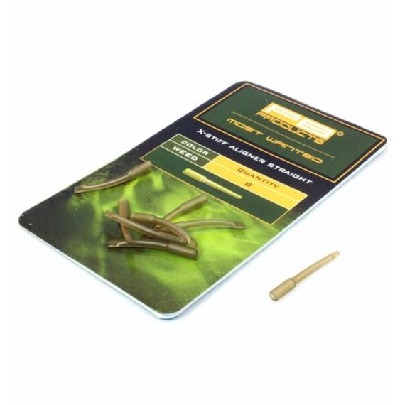 """PB Product X-Stiff Aligner Straight """"Weed"""" - egyenes horogbefordító """"növényzet"""" színben"""