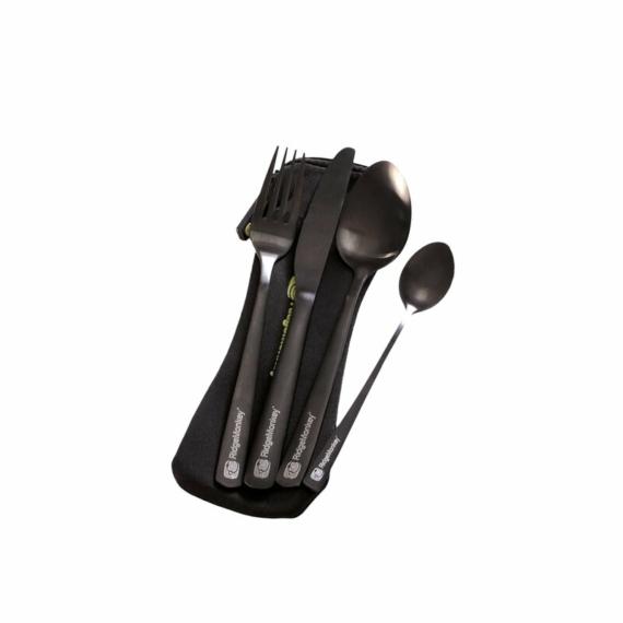 Ridgemonkey DLX Cutlery Set - evőeszköz készlet