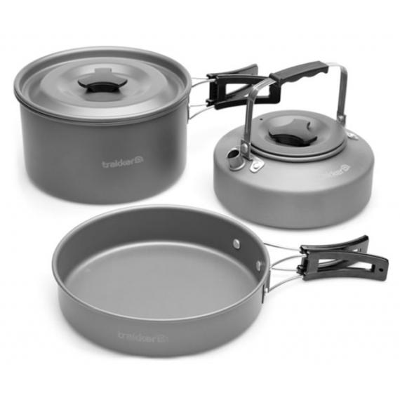Trakker Armolife Complete Cookware Set - komplett edény szett