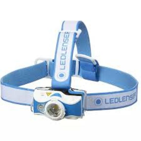 Led Lenser MH7 Outdoor Blue - tölthető fejlámpa 600LM kék