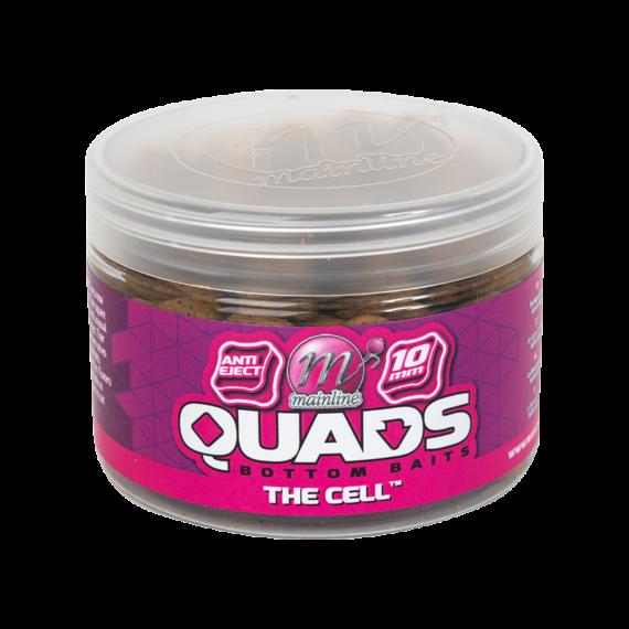 """Mainline Baits Quad Bottom Hookbait Cell 10mm - négyszögletes horogcsali """"Cell"""" ízesítés 10mm"""
