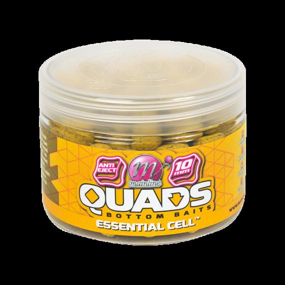 """Mainline Baits Quad Bottom Hookbait Essential Cell 10mm - négyszögletes horogcsali """"Essential Cell"""" ízesítés 10mm"""