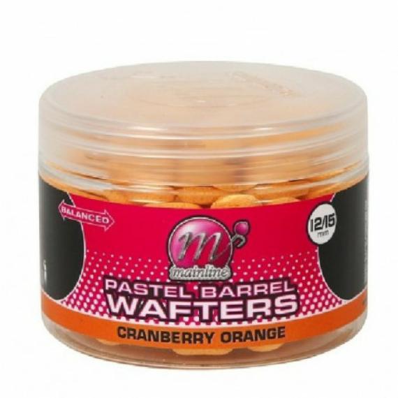 """Mainline Pastel Wafters Barrels Cranberry Orange - kikönnyített horogcsali """"Cranberry Orange"""" ízesítéssel"""