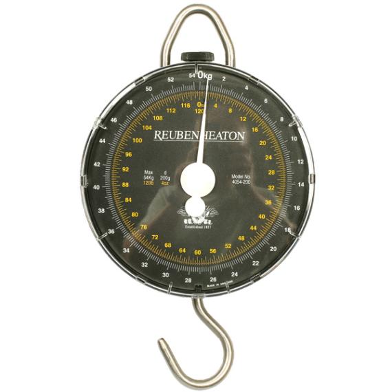 Reuben Heaton Angling Standard Dual 120lb x 4oz - 54kg x 200g mérleg
