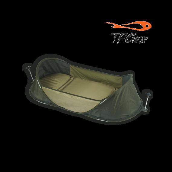 TF Gear Hardcore Packaway Unhooking Mat - biztosági oldalfalas pontymatrac rögzítőkkel