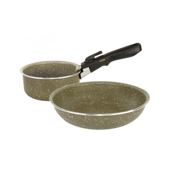 Trakker Armolife Marble Cookset - 2 részes kerámia edény szett
