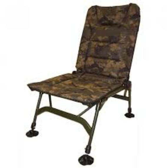 Solar Tackle Undercover Camo Session Chair - karfa nélküli kamo szék