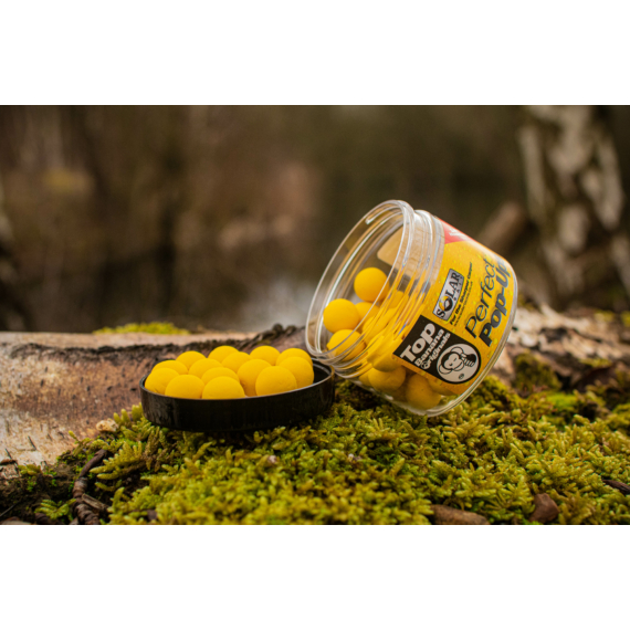 Solar Bait Creamy Sweetcorn Perfect Pop-Ups - pop-up 18mm