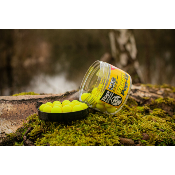 Solar Baits Top Banana Fluoro Pop-Ups - pop-up 14mm